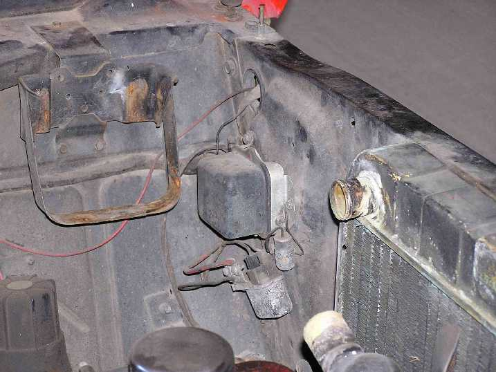 headlight relay installation rh 67chevyii com Basic Wiring Diagram Horn Horn Switch Wiring Diagram